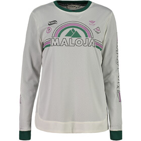 Maloja ScudoriaM. Long Sleeve Freeride Jersey Women vintage white